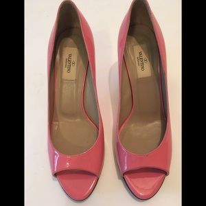 Valentino Peep toe pumps Size 38.5(8.5)